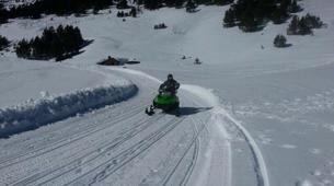 Snowmobiling-Ordino-Snowmobile excursions in Ordino, Andorra-4