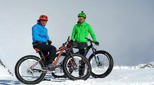 Fat Bike-Val Thorens, Les Trois Vallées-Descente en Fat Bike à Val-Thorens-5