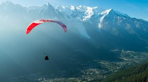 Parapente-Chamonix Mont-Blanc-Baptême de Parapente au-dessus de Chamonix-3