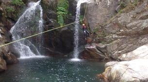 Canyoning-Cevennes National Park-Adventure canyoning down the Tapoul canyon in Cévennes National Park-6