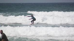 Surf-Lagos-Group surfing lessons in Praia da Luz, near Lagos-4