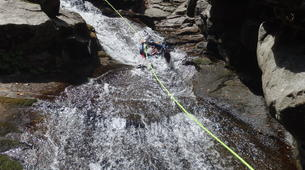 Canyoning-Cevennes National Park-Adventure canyoning down the Tapoul canyon in Cévennes National Park-1
