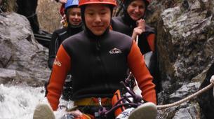 Canyoning-Prades-Canyoning hivernal en eau chaude dans les Pyrénées Catalanes-4