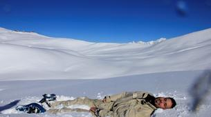 Snowshoeing-Les Arcs, Paradiski-Snowshoeing excursion in Beaufortain, near Les Arcs-5