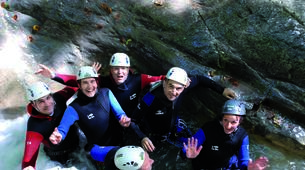 Canyoning-Annecy-Canyon d'Angon au Lac d'Annecy-1