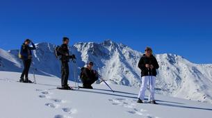 Snowshoeing-Les Arcs, Paradiski-Snowshoeing excursion in Beaufortain, near Les Arcs-1