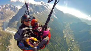 Parapente-Chamonix Mont-Blanc-Baptême de Parapente au-dessus de Chamonix-5