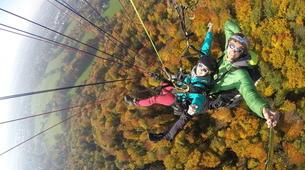 Paragliding-Salzburg-Classic tandem paragliding flight from Bischling, Werfenweng-8