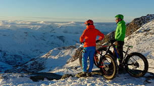 Fat Bike-Val Thorens, Les Trois Vallées-Descente en Fat Bike à Val-Thorens-4