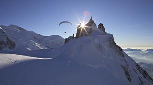 Parapente-Chamonix Mont-Blanc-Baptême de Parapente au-dessus de Chamonix-1