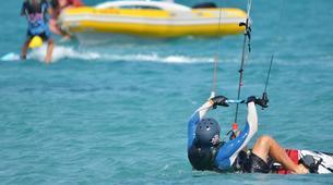 Kitesurfing-Costa Calma, Fuerteventura-Beginner kitesurfing courses in Matas Bay in Costa Calma, Fuerteventura-6