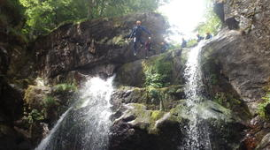 Canyoning-Cevennes National Park-Adventure canyoning down the Tapoul canyon in Cévennes National Park-2