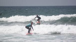 Surf-Lagos-Group surfing lessons in Praia da Luz, near Lagos-2
