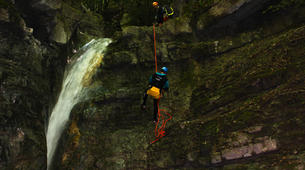 Canyoning-Annecy-Canyon d'Angon au Lac d'Annecy-5
