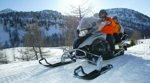 Snowmobiling-Isola 2000-Snowmobile excursion in Isola 2000-1