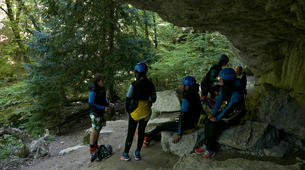Canyoning-Annecy-Canyon d'Angon au Lac d'Annecy-6