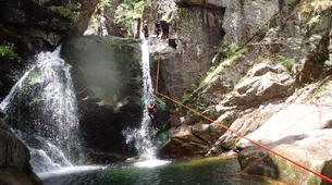 Canyoning-Cevennes National Park-Adventure canyoning down the Tapoul canyon in Cévennes National Park-3