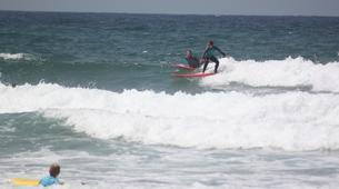 Surf-Lagos-Group surfing lessons in Praia da Luz, near Lagos-5
