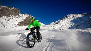 Fat Bike-Val Thorens, Les Trois Vallées-Descente en Fat Bike à Val-Thorens-3