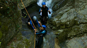 Canyoning-Annecy-Canyon d'Angon au Lac d'Annecy-4