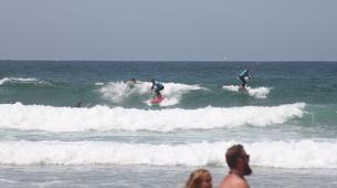 Surf-Lagos-Group surfing lessons in Praia da Luz, near Lagos-1