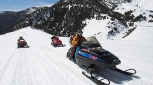 Snowmobiling-Andorra-Snowmobile excursions in Grau Roig, Andorra-3