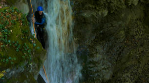 Canyoning-Annecy-Canyon d'Angon au Lac d'Annecy-3