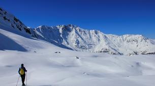 Snowshoeing-Les Arcs, Paradiski-Endurance snowshoeing excursion in Les Arcs-5