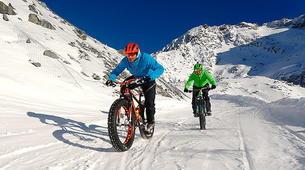 Fat Bike-Val Thorens, Les Trois Vallées-Descente en Fat Bike à Val-Thorens-1