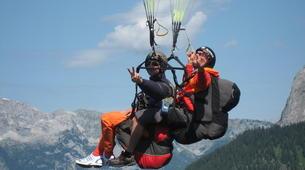 Paragliding-Salzburg-Classic tandem paragliding flight from Bischling, Werfenweng-7
