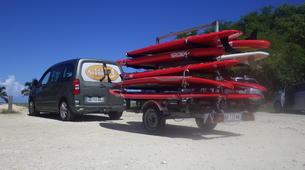 Stand Up Paddle-Morne-à-l'Eau-Excursion Stand Up Paddle dans la Réserve Naturelle du Grand Cul de Sac Marin en Guadeloupe-3