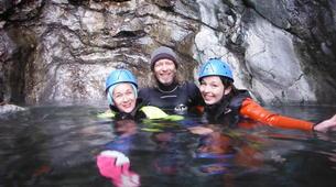 Canyoning-Prades-Canyoning hivernal en eau chaude dans les Pyrénées Catalanes-5