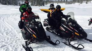 Snowmobiling-Andorra-Snowmobile excursions in Grau Roig, Andorra-1