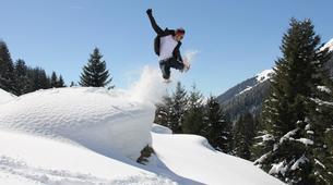 Snowshoeing-Les Arcs, Paradiski-Endurance snowshoeing excursion in Les Arcs-4