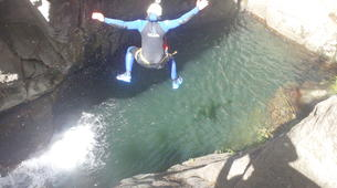 Canyoning-Cevennes National Park-Adventure canyoning down the Tapoul canyon in Cévennes National Park-4