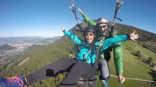 Paragliding-Salzburg-Classic tandem paragliding flight from Bischling, Werfenweng-6