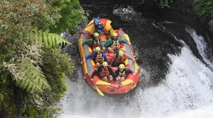 Rafting-Rotorua-Rafting down the Wairoa River near Rotorua-5