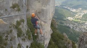 Via Ferrata-Gorges du Tarn-Via ferrata of Florac in the Cevennes National Park-4