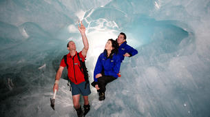 Helicopter tours-Franz Josef Glacier-Glacier Heli Hike in Franz Josef Glacier + Hot Pools Entry-8