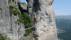 Via Ferrata-Gorges du Tarn-Via ferrata of Florac in the Cevennes National Park-1