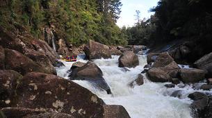 Rafting-Rotorua-Rafting down the Wairoa River near Rotorua-2