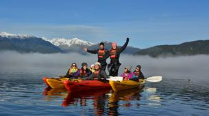Kayaking-Franz Josef Glacier-Kayaking excursion on Lake Mapourika near Franz Josef Glacier-3