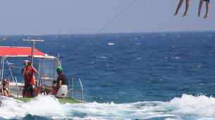 Parasailing-Heraklion-Parasailing flight in Ammoudara, Heraklion-6