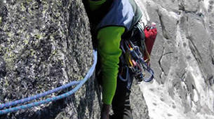 Rock climbing-Courmayeur-Rock climbing Dent du Geant on the Mont Blanc Massif-3