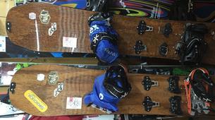 Ski touring-Risoul, La Forêt Blanche-Splitboard and ski touring day trip in Risoul - La Forêt Blanche-3