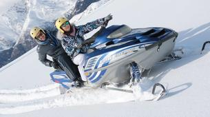 Snowmobiling-Aneto-Snowmobile and snowshoeing excursion in Vall de Boí, The Catalan Pyrenees-2