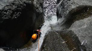Canyoning-Aosta Valley-Chalamy Creek canyon near Champdepraz, Aosta Valley-6