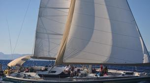 Sailing-Mykonos-Semi-Private Sailing yacht tour from Mykonos to Rhenia and Delos-2