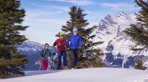 Raquette à Neige-Chamonix Mont-Blanc-Randonnée Raquettes à Neige à Chamonix Mont-Blanc-6
