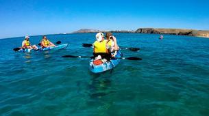 Sea Kayaking-Playa Blanca, Lanzarote-Sea kayaking excursions to Playa Papagayo-2